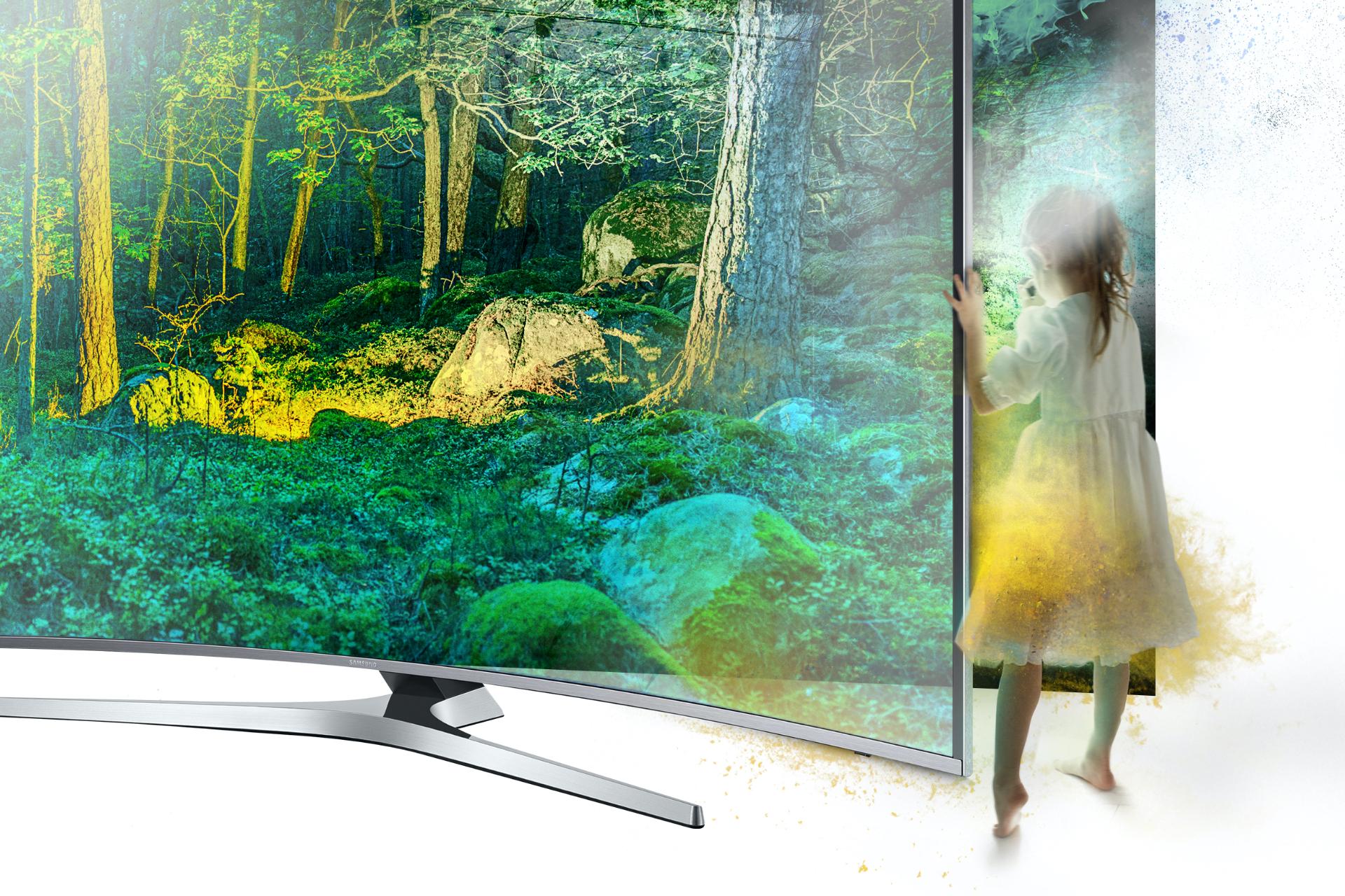 Key visual dla Samsung UHD TV